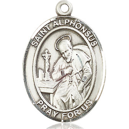St Alphonsus<br>Oval Patron Saint Series<br>Available in 3 Sizes