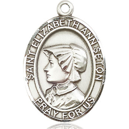 St Elizabeth Ann Seton<br>Oval Patron Saint Series<br>Available in 3 Sizes