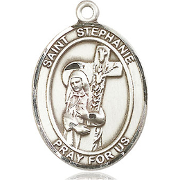 St Stephanie<br>Oval Patron Saint Series<br>Available in 3 Sizes