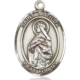 St Matilda<br>Oval Patron Saint Series<br>Available in 3 Sizes