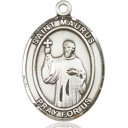 St Maurus<br>Oval Patron Saint Series<br>Available in 3 Sizes