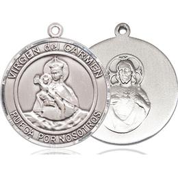 Virgen del Carmen<br>Round Patron Saint Series