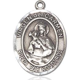 Virgen del Carmen<br>Oval Patron Saint Series