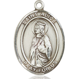St Alice<br>Oval Patron Saint Series<br>Available in 3 Sizes