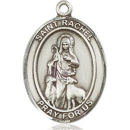 St Rachel<br>Oval Patron Saint Series<br>Available in 3 Sizes