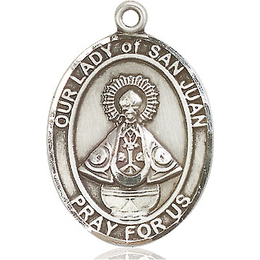 Our Lady of San Juan<br>Oval Patron Saint Series<br>Available in 3 Sizes