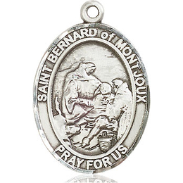 St Bernard of Montjoux<br>Oval Patron Saint Series<br>Available in 3 Sizes