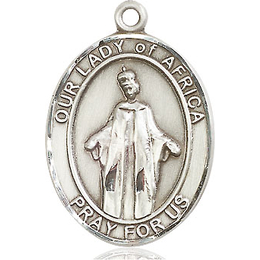 Our Lady of Africa<br>Oval Patron Saint Series<br>Available in 3 Sizes