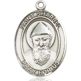 St Sharbel<br>Oval Patron Saint Series<br>Available in 3 Sizes