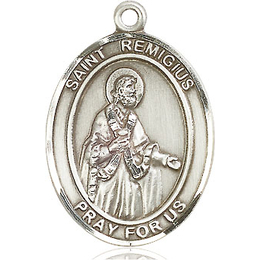 St Remigius of Reims<br>Oval Patron Saint Series<br>Available in 3 Sizes