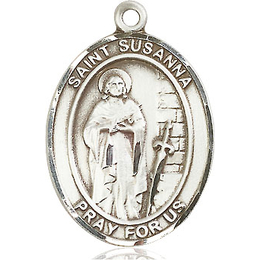 St Susanna<br>Oval Patron Saint Series<br>Available in 3 Sizes
