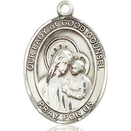 Our Lady of Good Counsel<br>Oval Patron Saint Series<br>Available in 3 Sizes