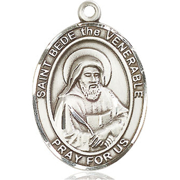 St Bede the Venerable<br>Oval Patron Saint Series<br>Available in 3 Sizes
