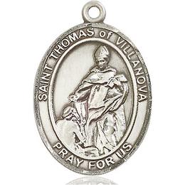 St Thomas of Villanova<br>Oval Patron Saint Series<br>Available in 3 Sizes