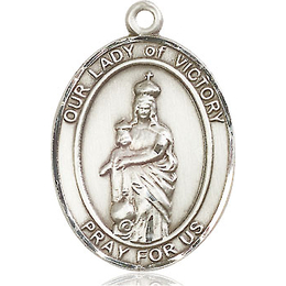 Our Lady of Victory<br>Oval Patron Saint Series<br>Available in 3 Sizes