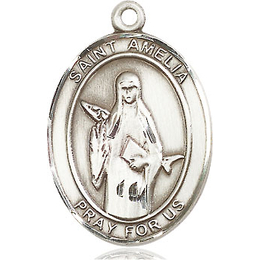 St Amelia<br>Oval Patron Saint Series<br>Available in 3 Sizes