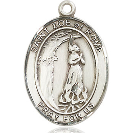 St Zoe of Rome<br>Oval Patron Saint Series<br>Available in 3 Sizes