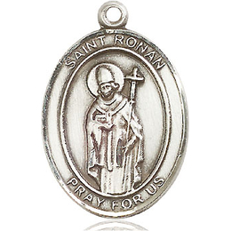 St Ronan<br>Oval Patron Saint Series<br>Available in 3 Sizes
