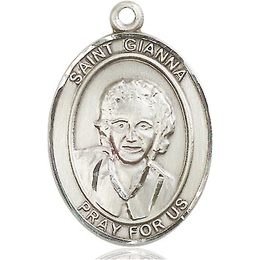 St Gianna<br>Oval Patron Saint Series<br>Available in 3 Sizes