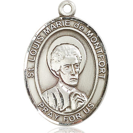 St Louis Marie de Montfort<br>Oval Patron Saint Series<br>Available in 3 Sizes