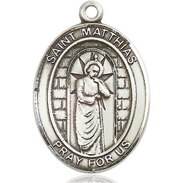 St Matthias the Apostle<br>Oval Patron Saint Series<br>Available in 3 Sizes