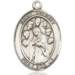 St Felicity<br>Oval Patron Saint Series<br>Available in 3 Sizes