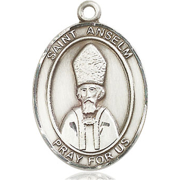 St Anselm of Canterbury<br>Oval Patron Saint Series<br>Available in 3 Sizes