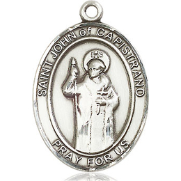 St John of Capistrano<br>Oval Patron Saint Series<br>Available in 3 Sizes