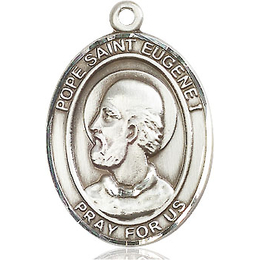 Pope St Eugene I<br>Oval Patron Saint Series<br>Available in 3 Sizes