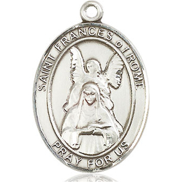 St Frances of Rome<br>Oval Patron Saint Series<br>Available in 3 Sizes