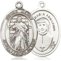 Divine Mercy<br>Oval Patron Saint Series<br>Available in 3 Sizes