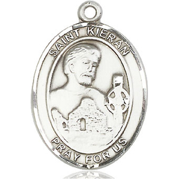 St Kieran<br>Oval Patron Saint Series<br>Available in 3 Sizes