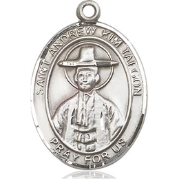 St Andrew Kim Taegon<br>Oval Patron Saint Series<br>Available in 3 Sizes