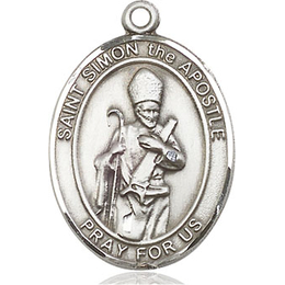 St Simon<br>Oval Patron Saint Series<br>Available in 3 Sizes