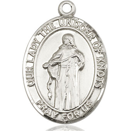 Our Lady of Knots<br>Oval Patron Saint Series<br>Available in 3 Sizes