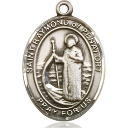 St Raymond of Penafort<br>Oval Patron Saint Series<br>Available in 3 Sizes