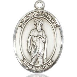 St Nathanael<br>Oval Patron Saint Series<br>Available in 3 Sizes