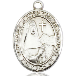 Jeanne Chezard de Matel<br>Oval Patron Saint Series<br>Available in 2 Sizes