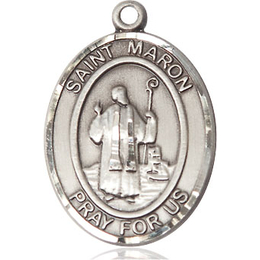 St Maron<br>Oval Patron Saint Series<br>Available in 2 Sizes