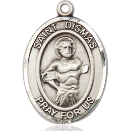 St Dismas<br>Oval Patron Saint Series<br>Available in 3 Sizes