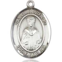 St Winifred of Wales<br>Oval Patron Saint Series<br>Available in 2 Sizes