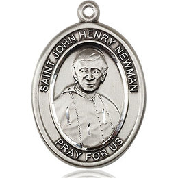 Blessed John Henry Newman<br>Oval Patron Saint Series<br>Available in 2 Sizes