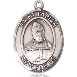 St Fabian<br>Oval Patron Saint Series<br>Available in 2 Sizes