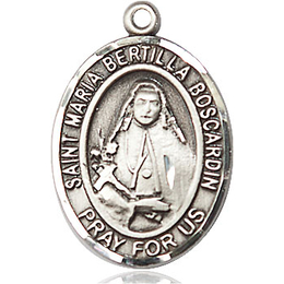 St Maria Bertilla Boscardin<br>Oval Patron Saint Series<br>Available in 2 Sizes