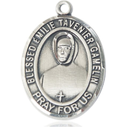 Blessed Emilie Tavernier Gamelin<br>Oval Patron Saint Series<br>Available in 2 Sizes