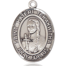 St Kateri Tekakwitha<br>Oval Patron Saint Series<br>Available in 3 Sizes