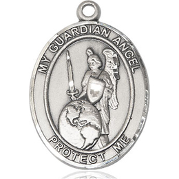 Guardian Angel of the World<br>Oval Patron Saint Series<br>Available in 2 Sizes