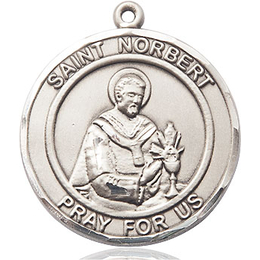 St. Norbert of Xanten<br>Round Patron Saint Series<br>Available in 2 sizes