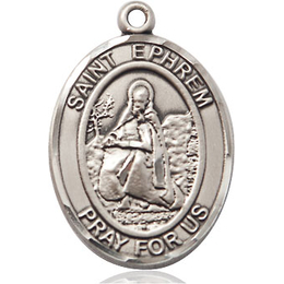 St Ephrem<br>Oval Patron Saint Series<br>Available in 2 Sizes