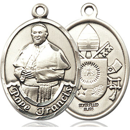 Pope Francis<br>Oval Patron Saint Series<br>Available in 2 Sizes